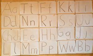 2. Klasse Buchstaben